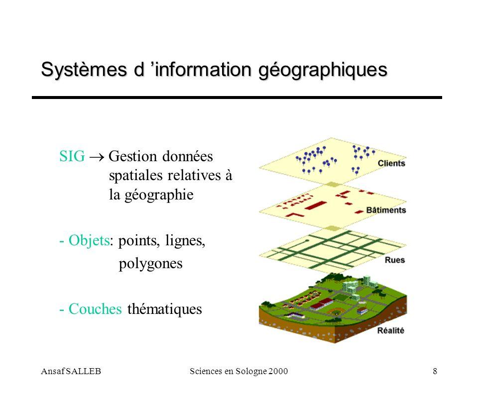 Systèmes d 'information géographiques