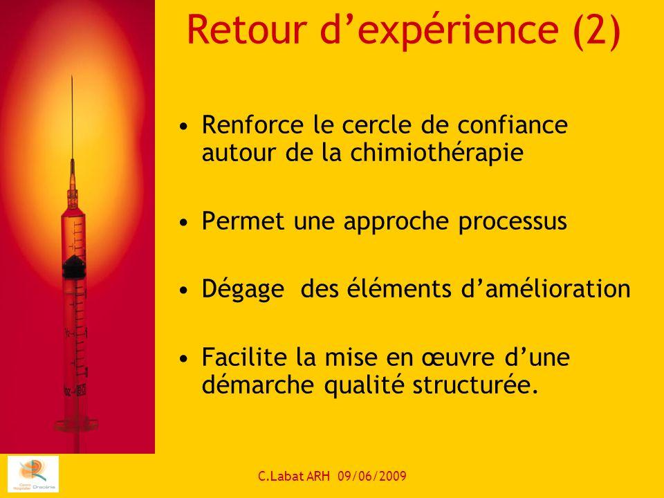 Retour d'expérience (2)