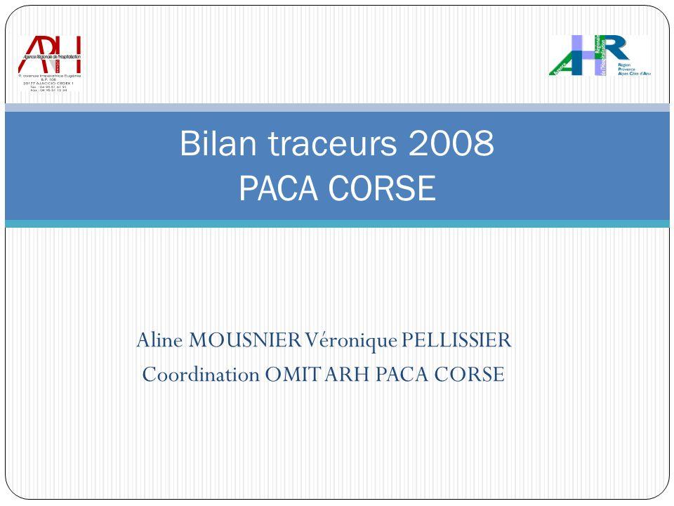 Bilan traceurs 2008 PACA CORSE