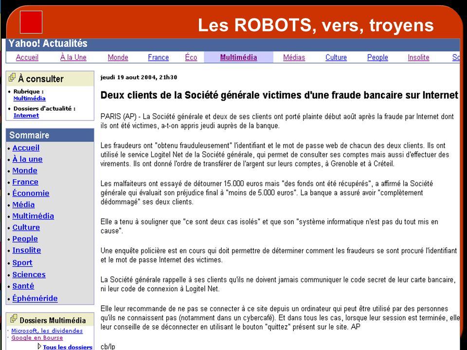 Les ROBOTS, vers, troyens