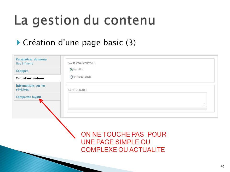 Création d une page basic (3)