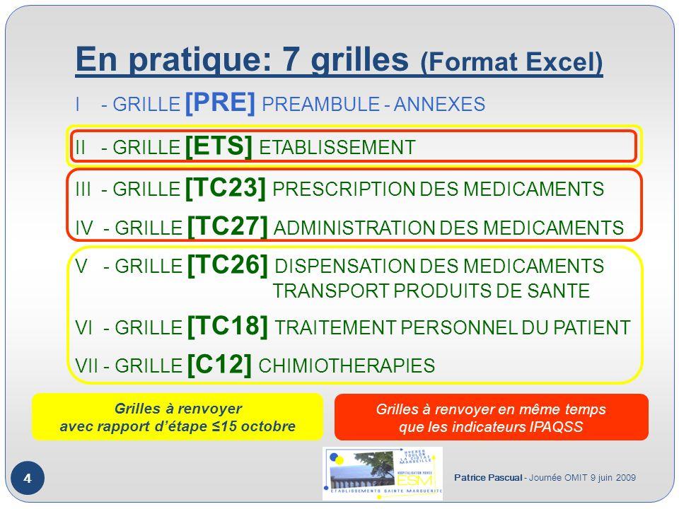 En pratique: 7 grilles (Format Excel)