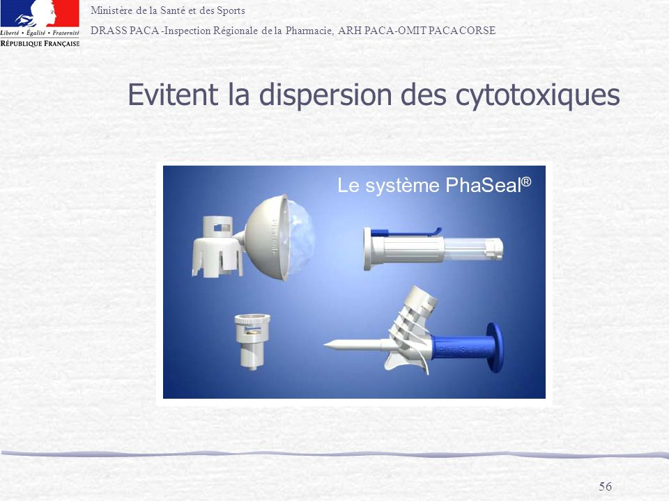 Evitent la dispersion des cytotoxiques