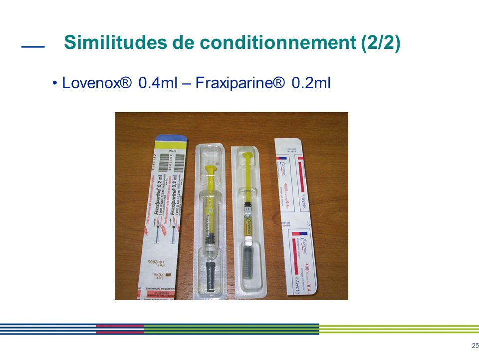 Similitudes de conditionnement (2/2)