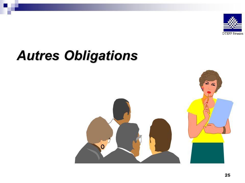 Autres Obligations