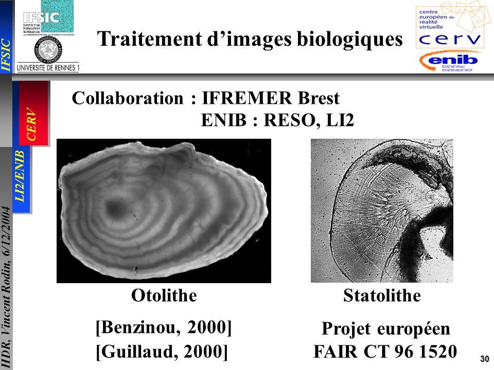 Traitement d'images biologiques