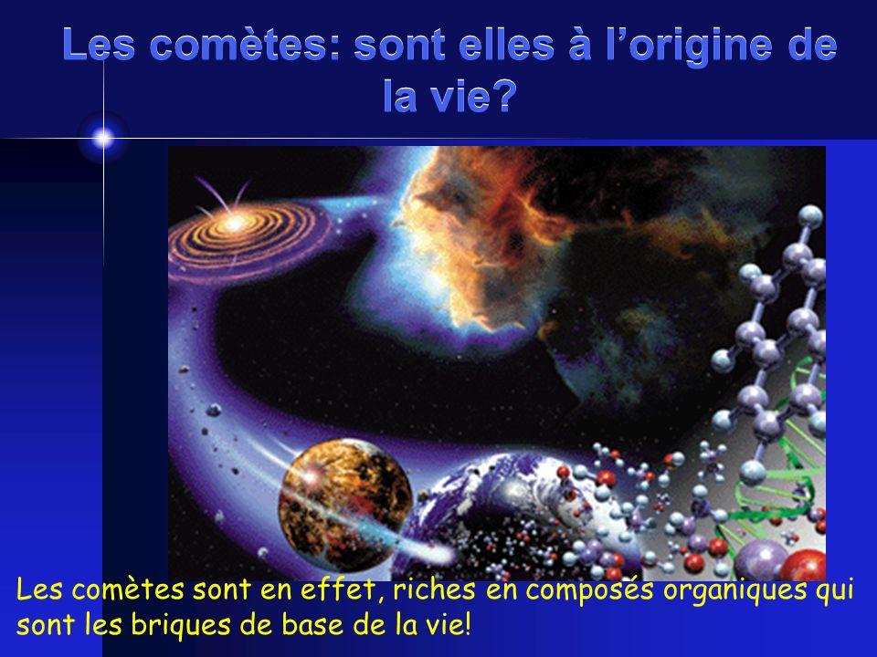 Les comètes: sont elles à l'origine de la vie