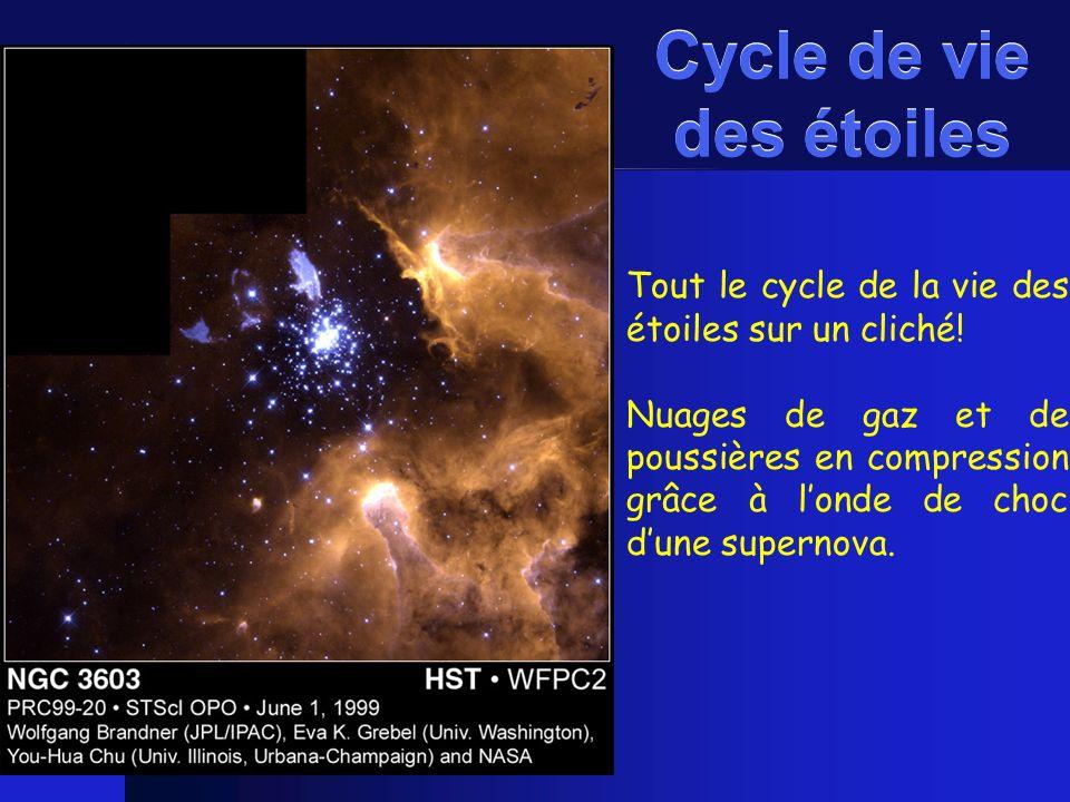 Cycle de vie des étoiles