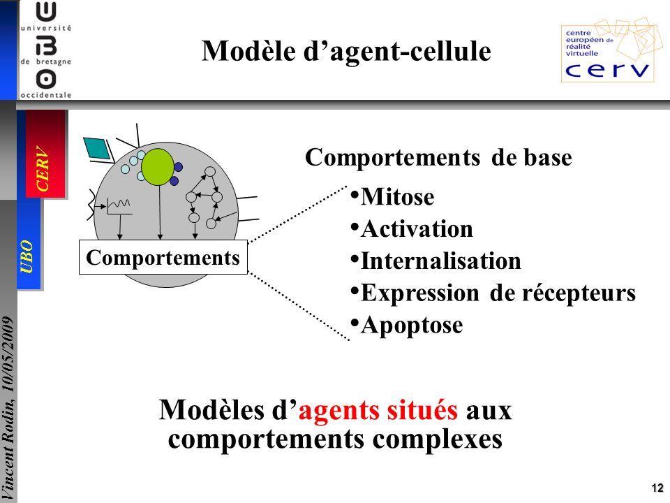 Modèles d'agents situés aux