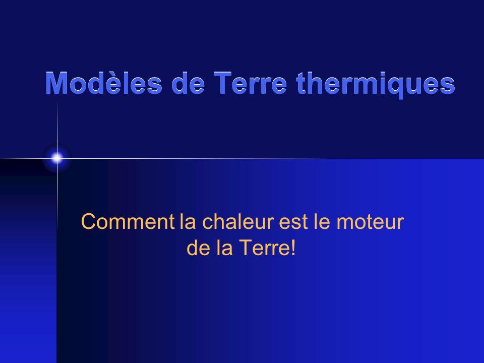 Modèles de Terre thermiques