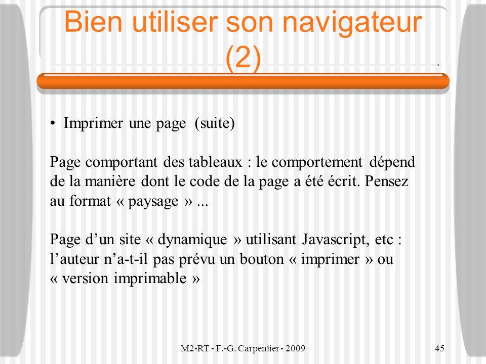 Bien utiliser son navigateur (2)