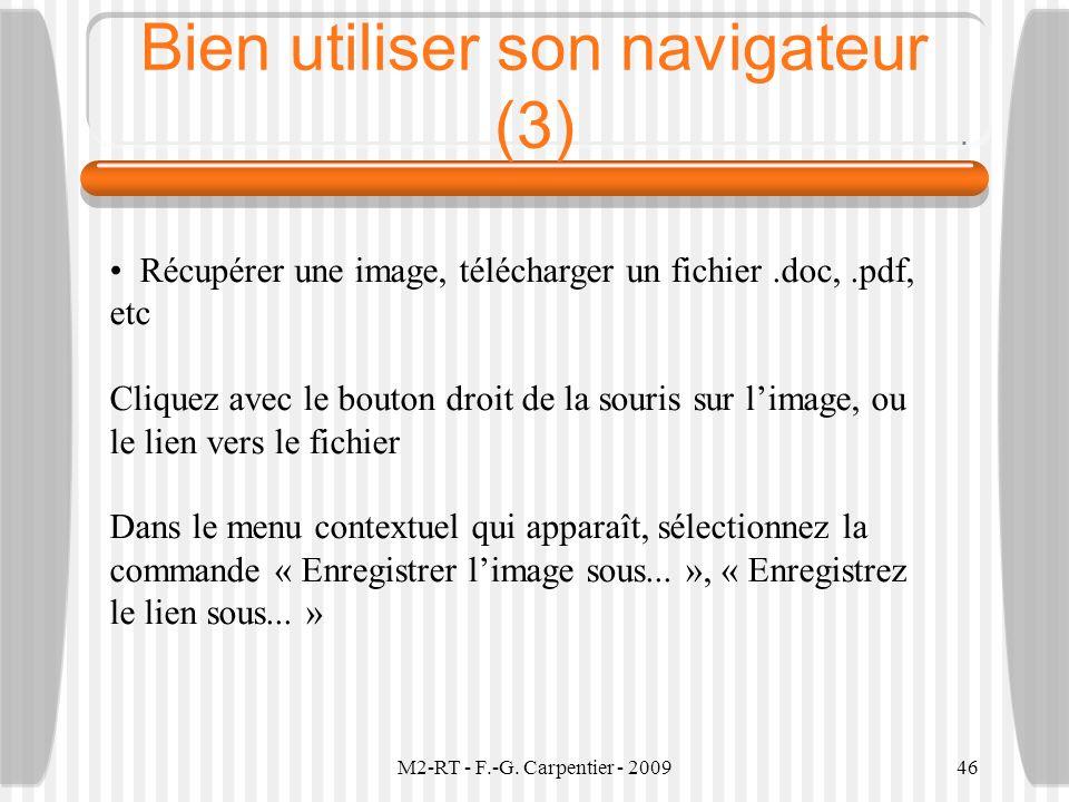 Bien utiliser son navigateur (3)