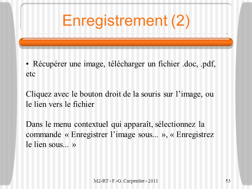 Enregistrement (2)
