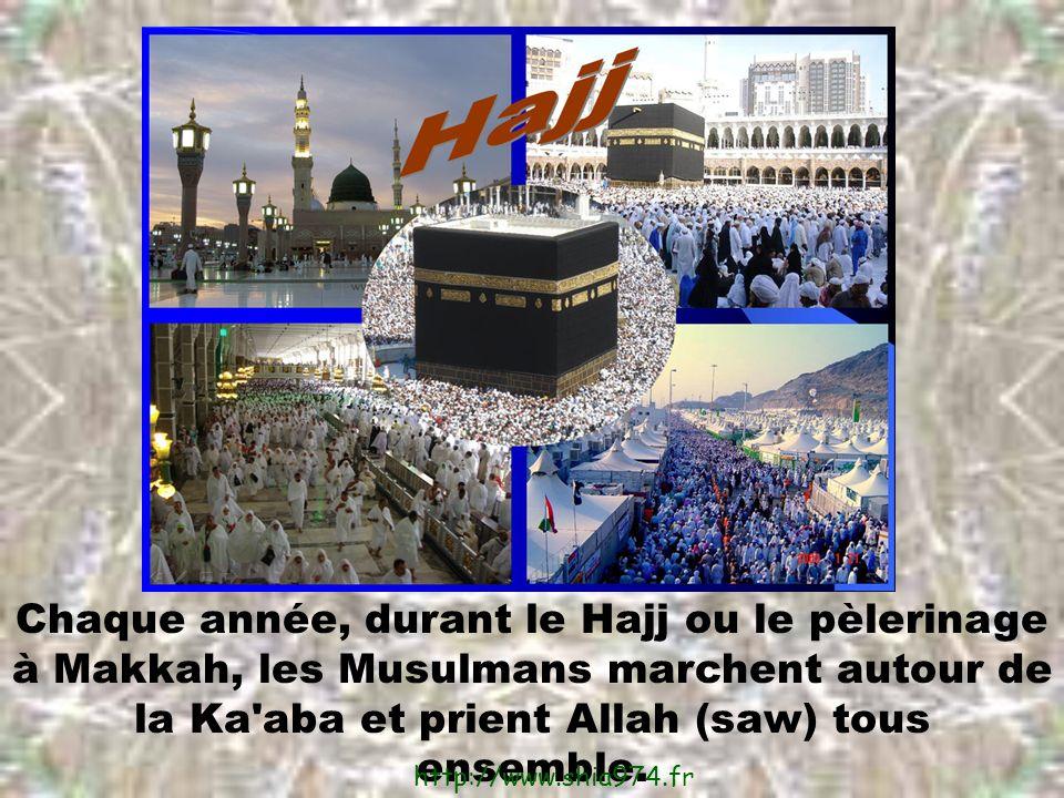 Chaque année, durant le Hajj ou le pèlerinage