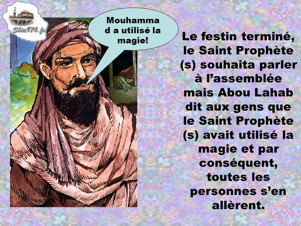 Mouhammad a utilisé la magie!