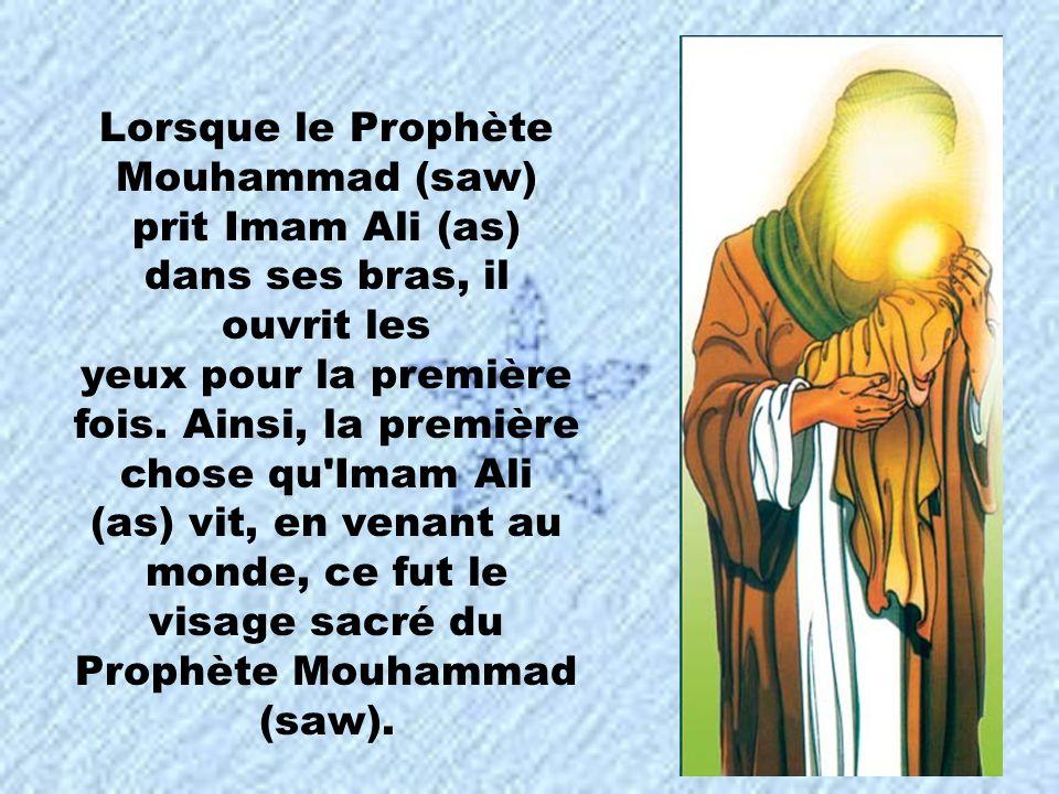 monde, ce fut le visage sacré du Prophète Mouhammad (saw).