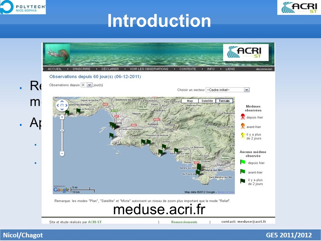 Introduction meduse.acri.fr
