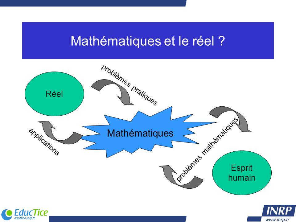 Mathématiques et le réel