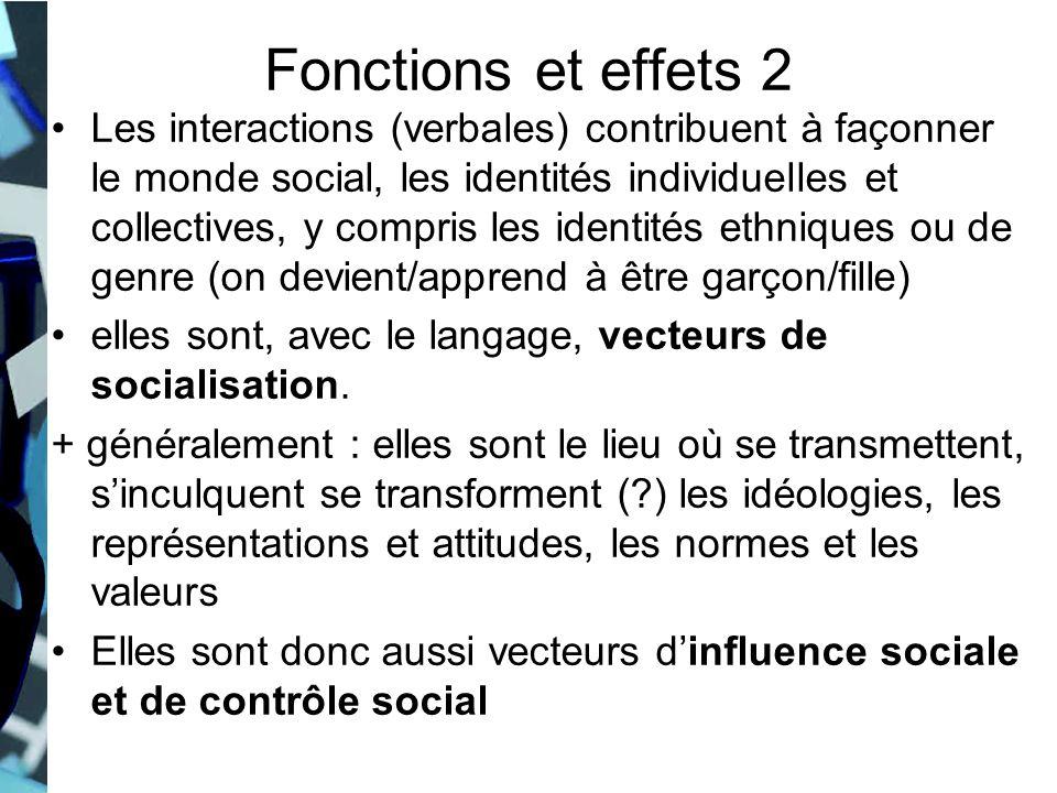Fonctions et effets 2
