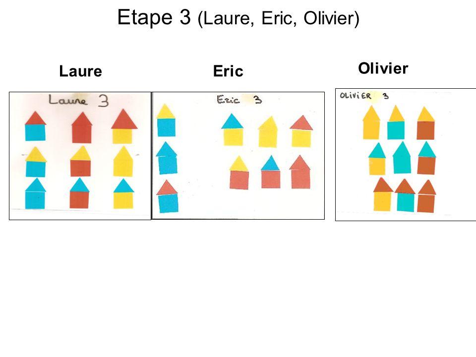 Etape 3 (Laure, Eric, Olivier)