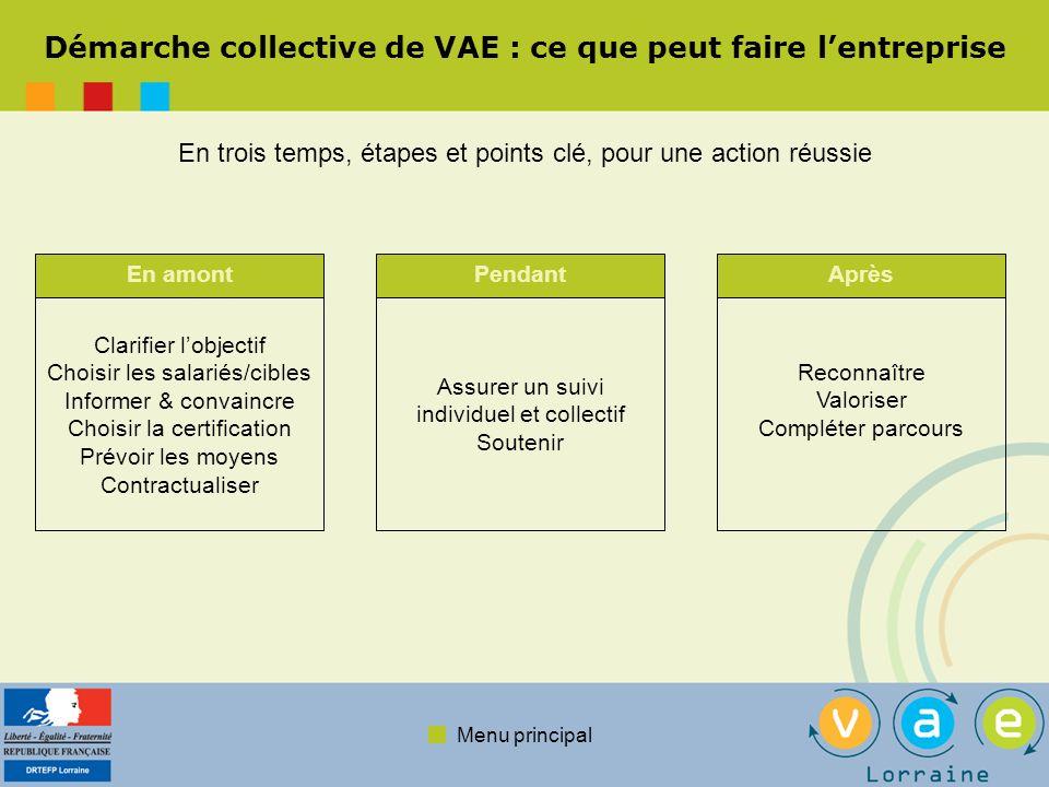 Démarche collective de VAE : ce que peut faire l'entreprise