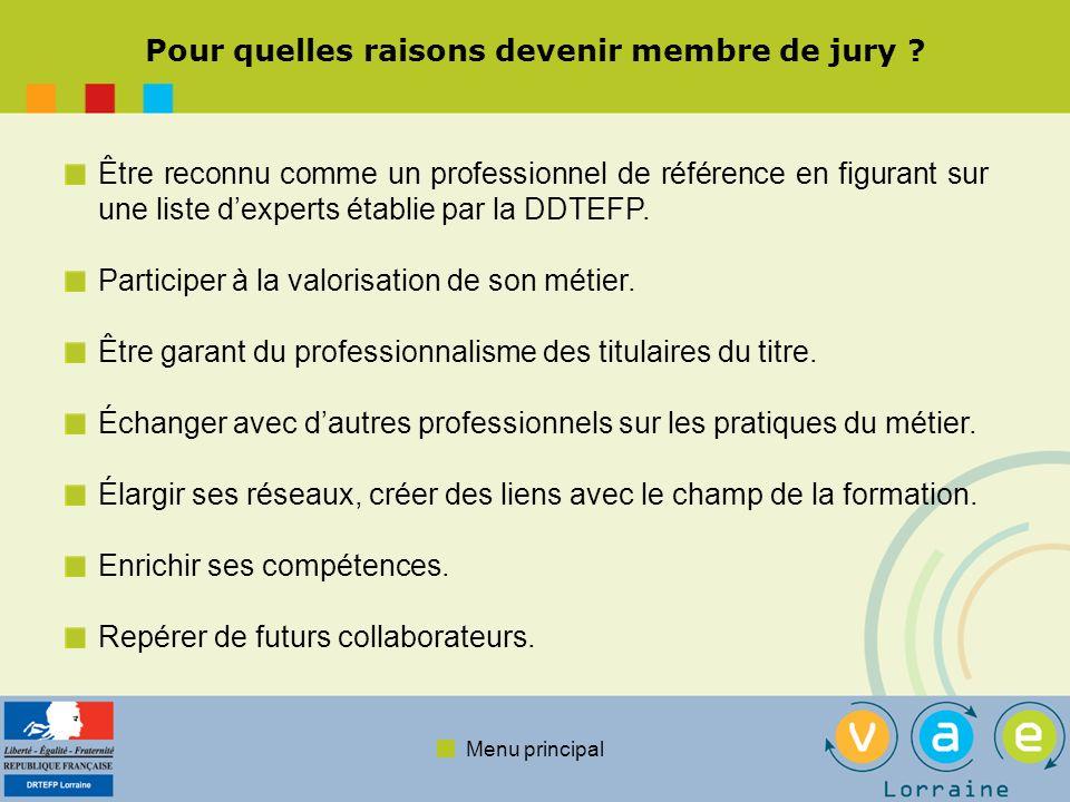 Pour quelles raisons devenir membre de jury