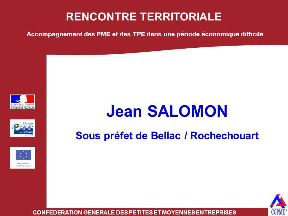 Jean SALOMON RENCONTRE TERRITORIALE