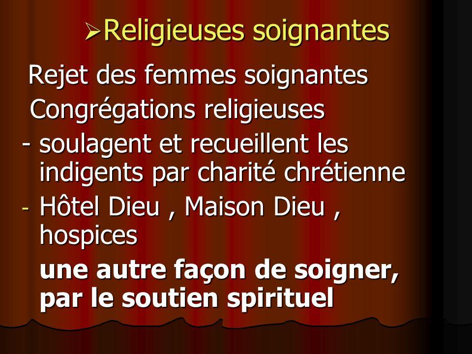 Religieuses soignantes