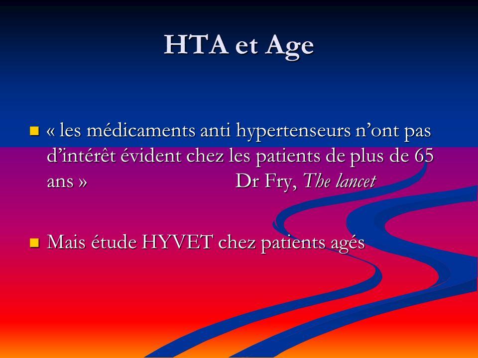 HTA et Age