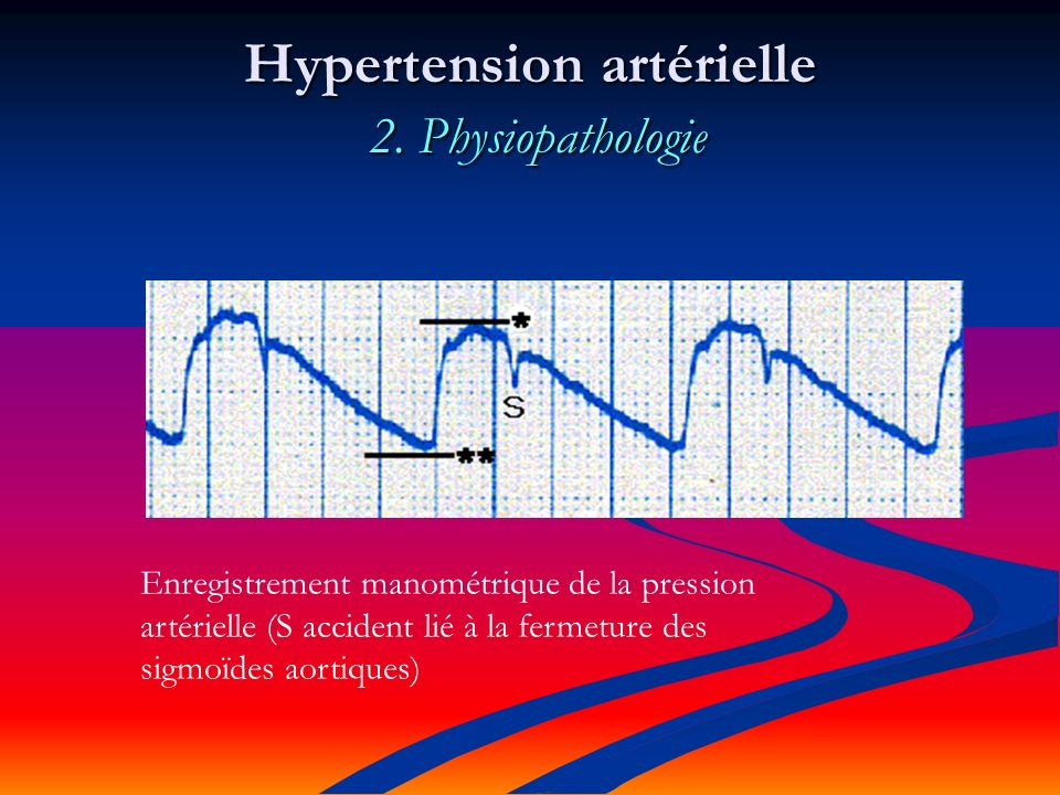 Hypertension artérielle 2. Physiopathologie