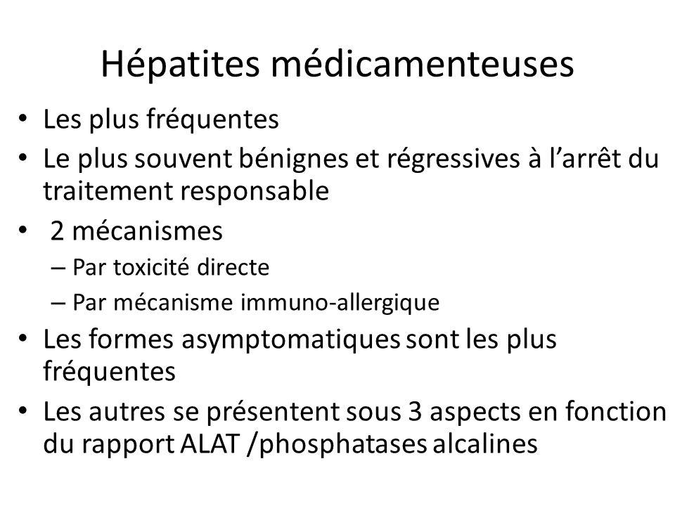 Hépatites médicamenteuses