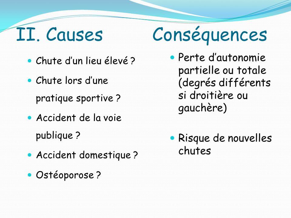 II. Causes Conséquences
