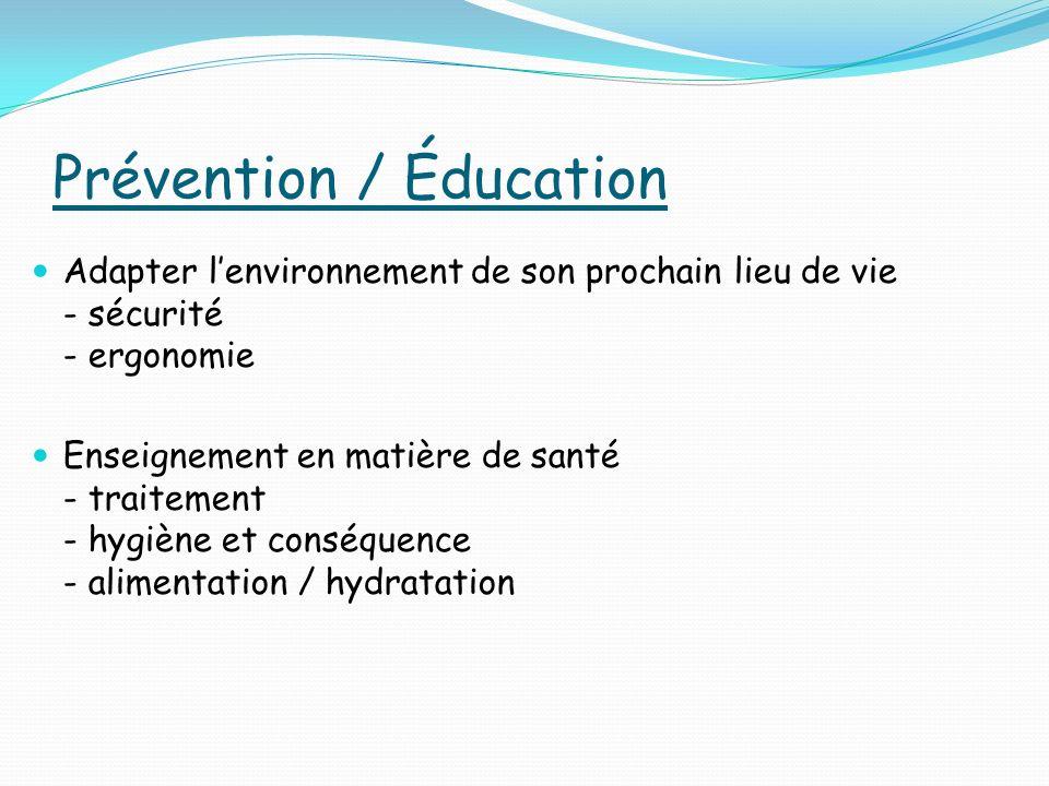 Prévention / Éducation