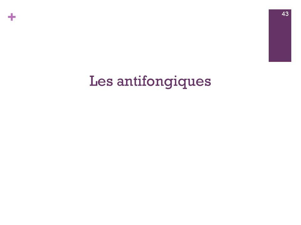 Les antifongiques