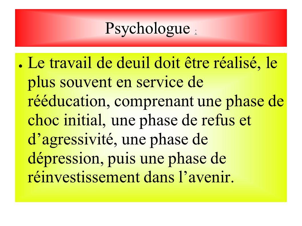 Psychologue :