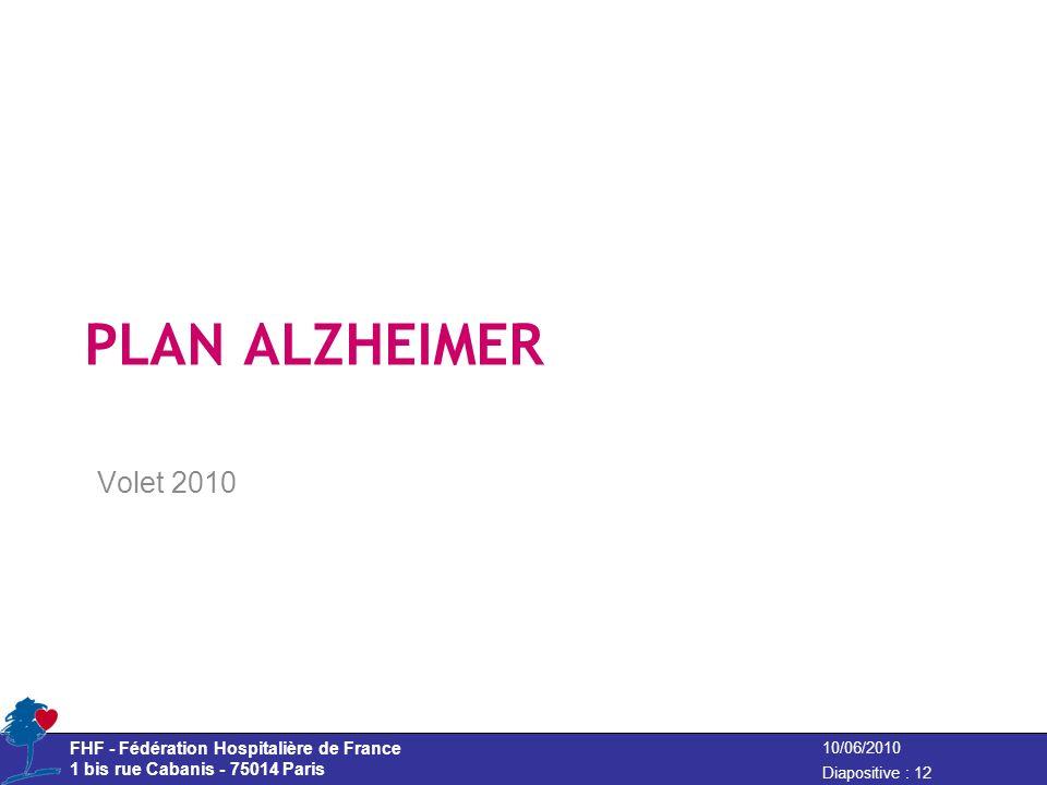 Volet 2010 PLAN ALZHEIMER
