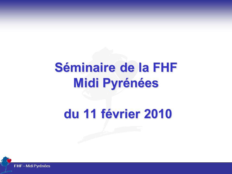 Séminaire de la FHF Midi Pyrénées du 11 février 2010