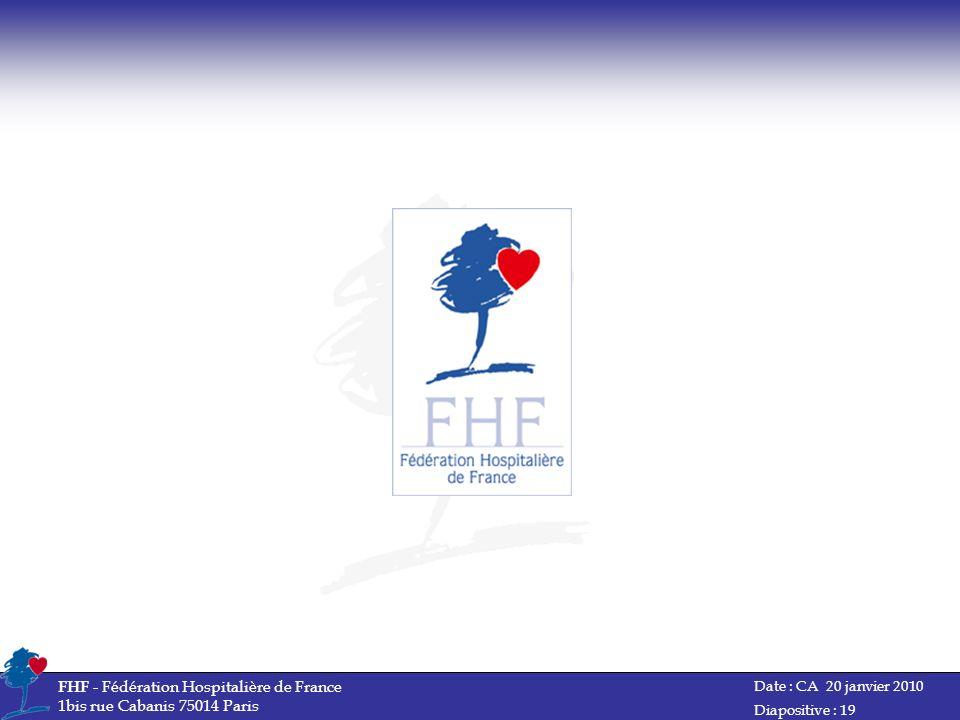 FHF - Fédération Hospitalière de France 1bis rue Cabanis 75014 Paris