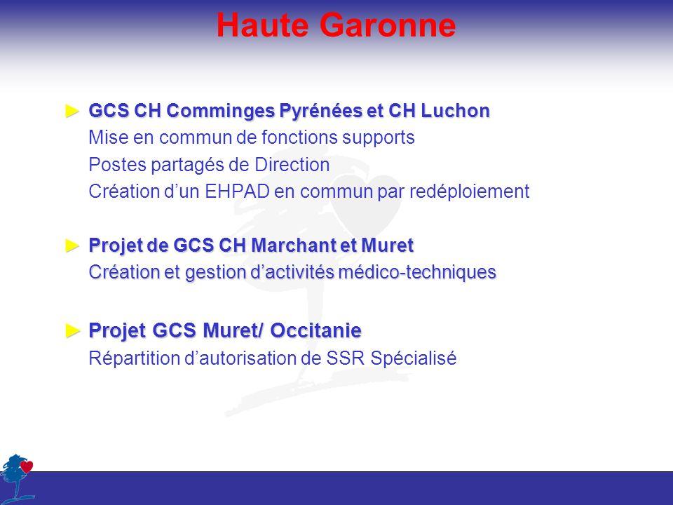 Haute Garonne Projet GCS Muret/ Occitanie