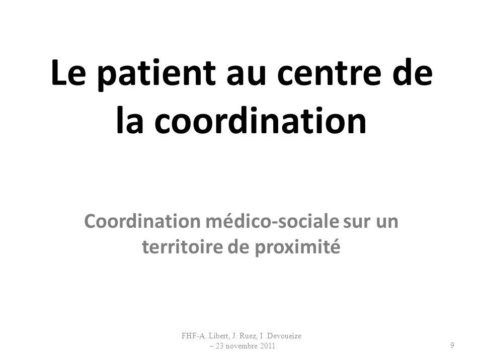 Le patient au centre de la coordination