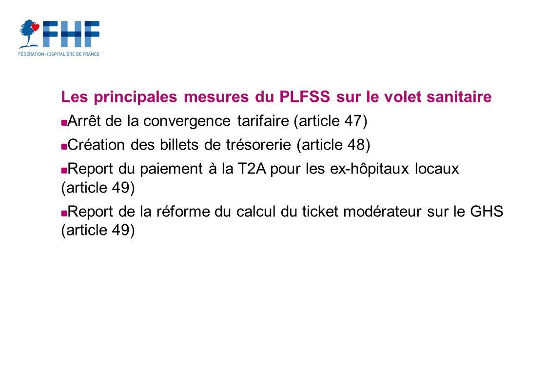 Les principales mesures du PLFSS sur le volet sanitaire