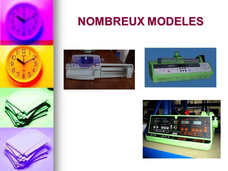 NOMBREUX MODELES