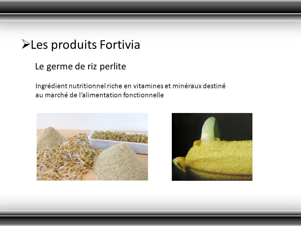 Les produits Fortivia Le germe de riz perlite