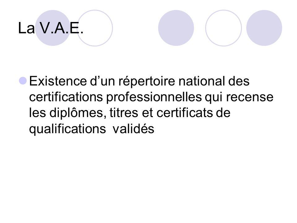 La V.A.E.