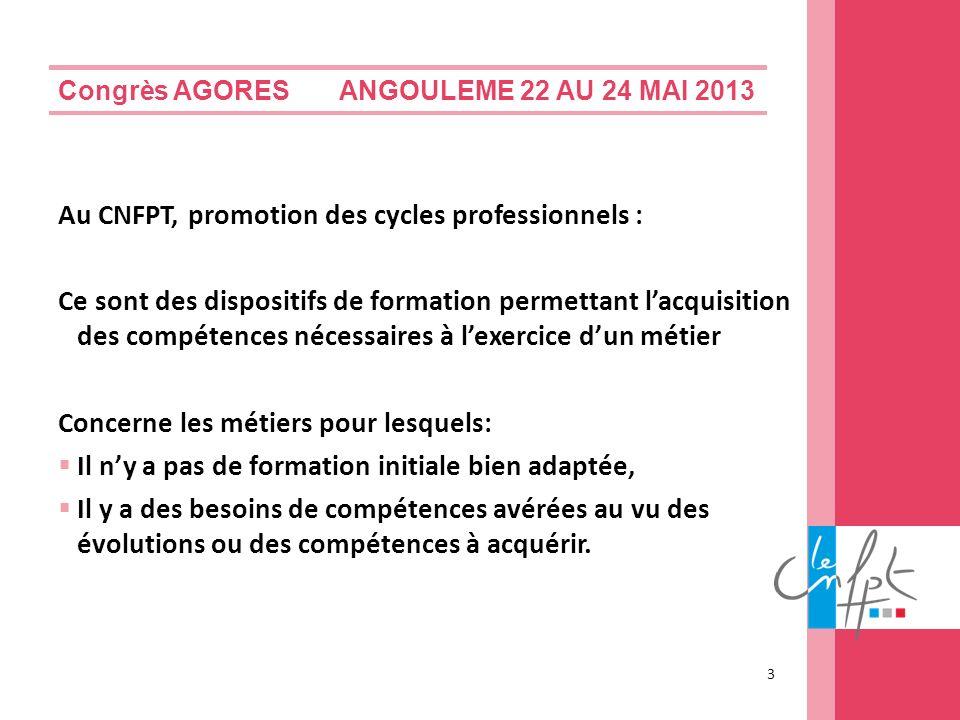 Au CNFPT, promotion des cycles professionnels :