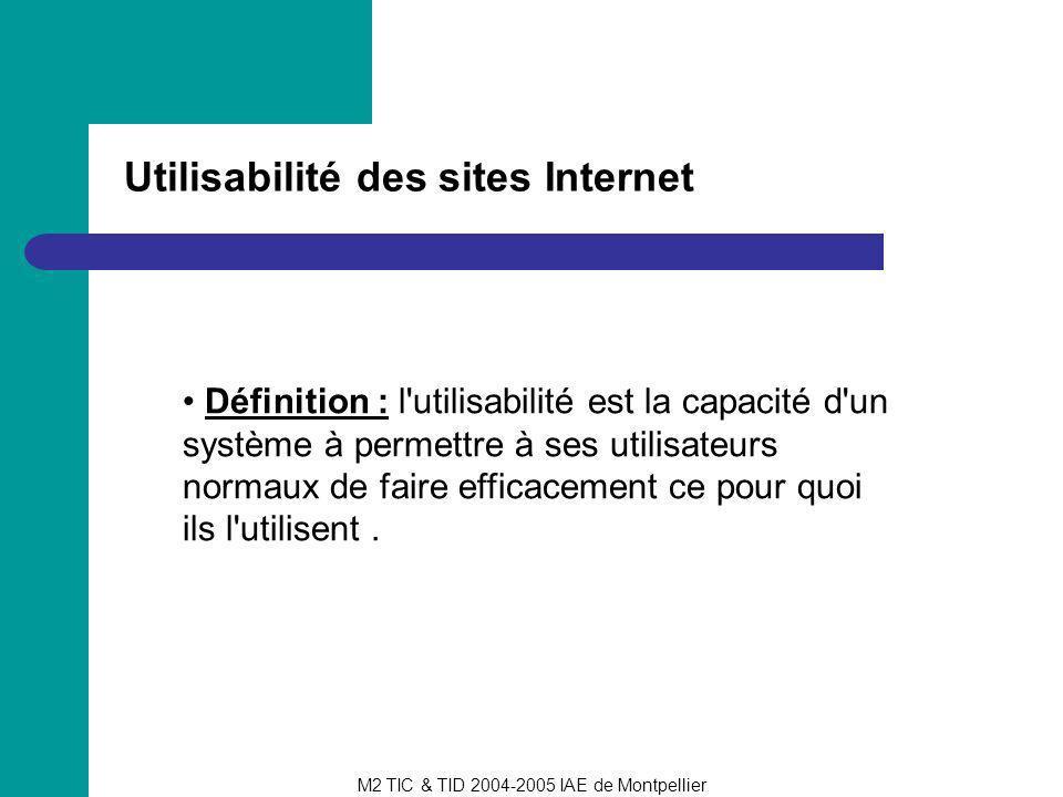 Utilisabilité des sites Internet