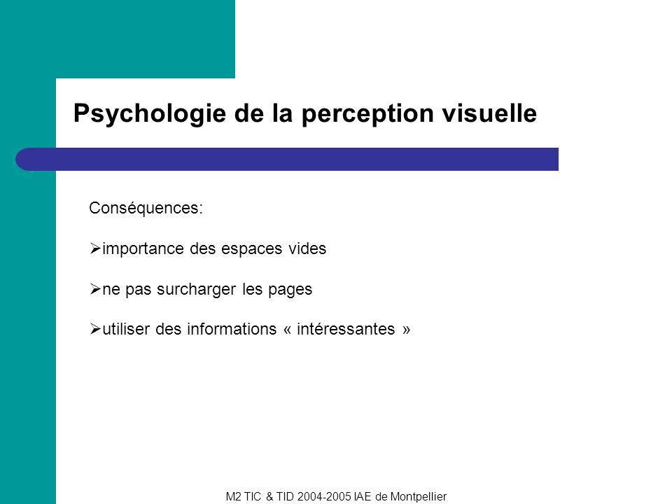 Psychologie de la perception visuelle
