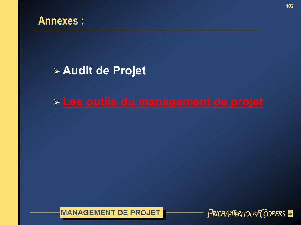 Les outils du management de projet