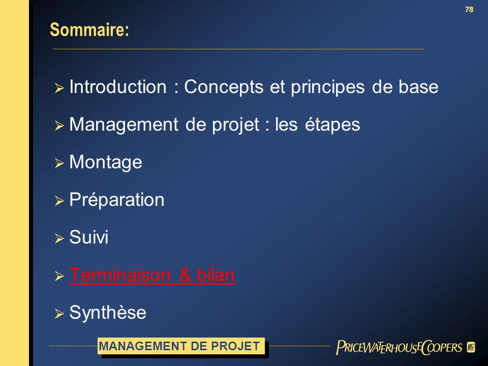 Introduction : Concepts et principes de base