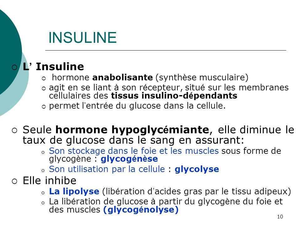 INSULINEL' Insuline. hormone anabolisante (synthèse musculaire)